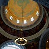 View of interior dome, Utah State Capitol, Salt Lake City