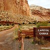 Road into Capitol Gorge, Capitol Reef National Park