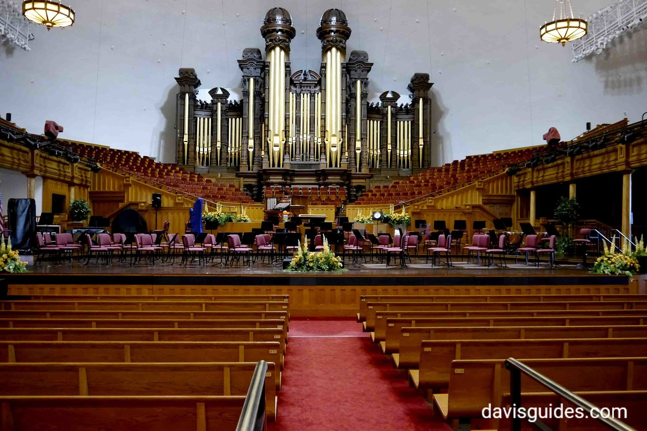 Grand organ in Mormon Tabernacle