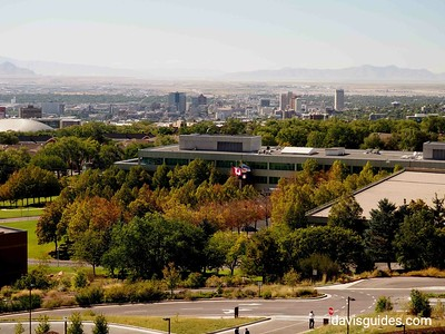 Downtown Salt Lake from University of Utah