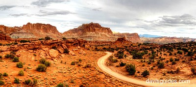 Panorama from Sunset Point, Capitol Reef National Park