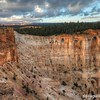 Morning light at Bryce Point in Bryce Canyon National Park