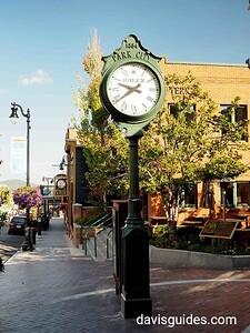 Town Clock, Park City, Utah