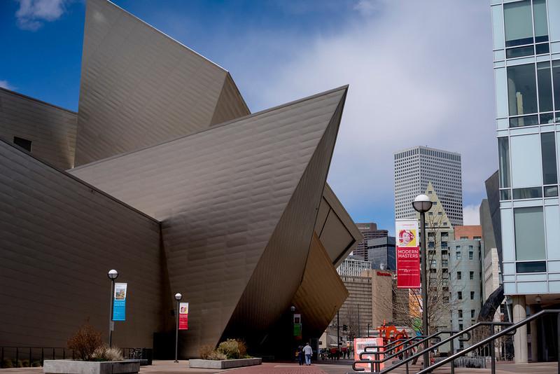 Denver Museum of Art (architect: Liebeskind)