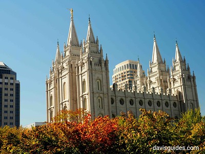 Mormon Temple, Salt Lake City