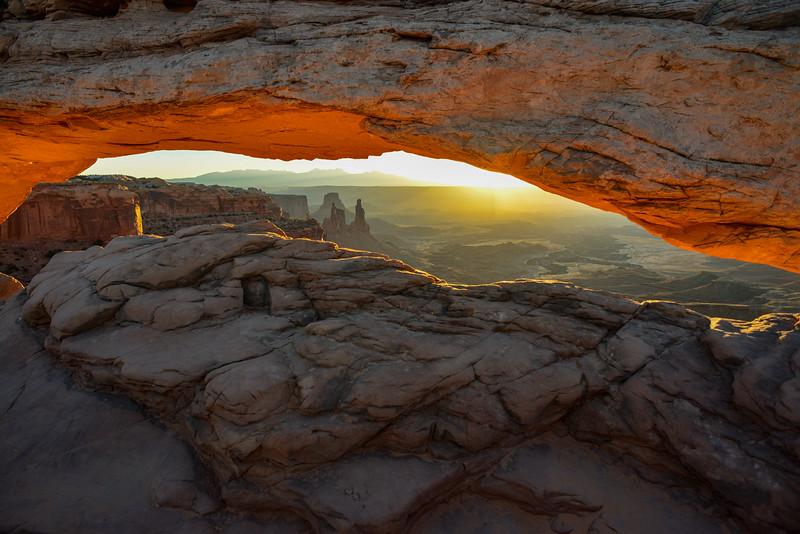Sunrise, Mesa Arch, Canyonlands NP, Utah