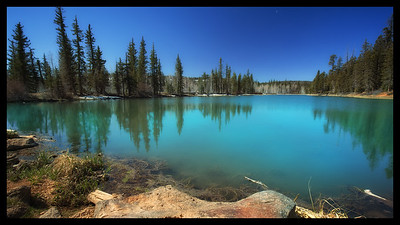 Alpine Lake, Dixie National Forest