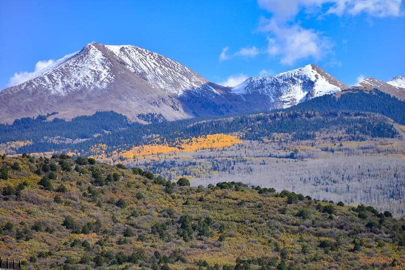 La Sal Mountain Loop Road Scenic Backway, Moab, Utah
