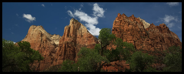 The Patriarchs, Zion NP
