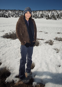 Dixie National Forest Snowfield