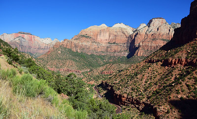 Zion National Park i the higher elevations