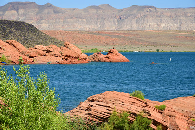 Sand Hollow Reservoir, near Hurricane,  Utah