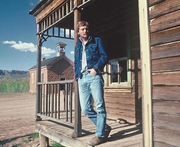 Joe on the set of Butch Cassidy & the Sundance Kid