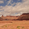Starting our drive up the Shafer Trail, Canyonlands NP UT.