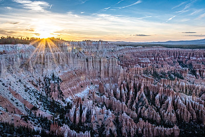 Sunset at Bryce Point, Bryce National Park
