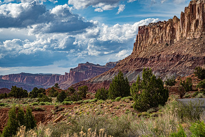Scenic Drive, Capitol Reef National Park