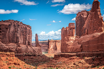 Park Avenue Viewpoint, Arches National Park