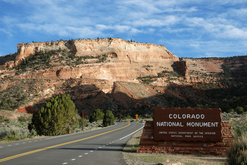 Our first night was spent in Gunnison, CO.  We paid a quick visit to the Colorado National Monument that evening.
