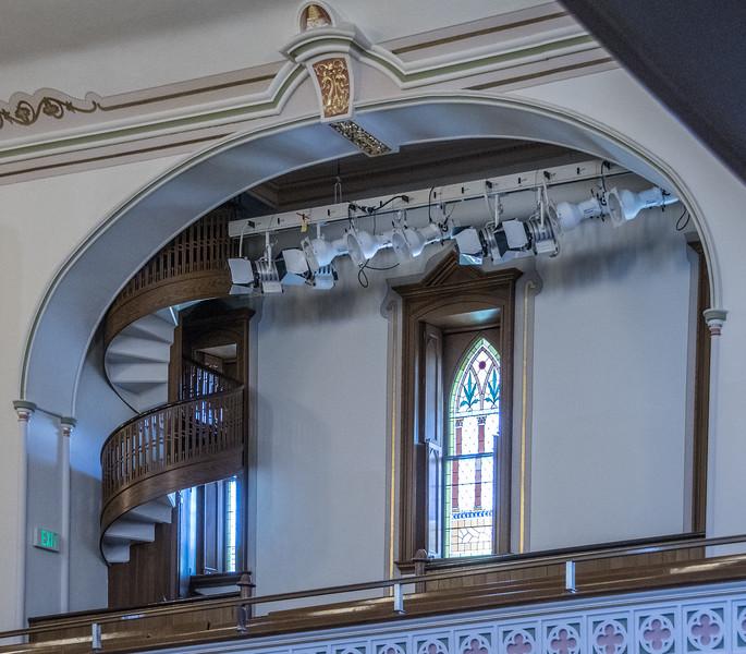 Location -The Small Mormon Church In Salt Lake City