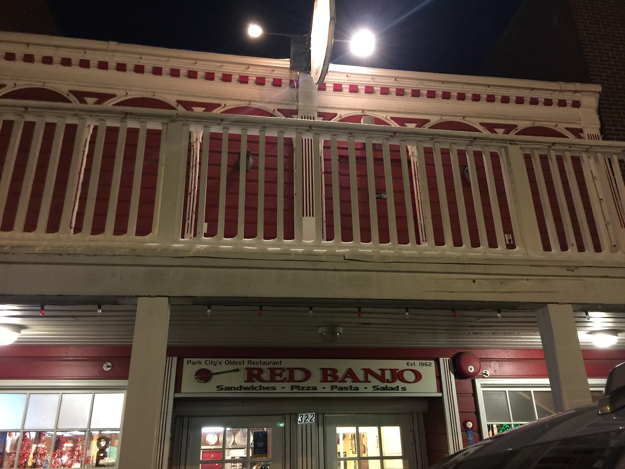 Dinner at the Red Banjo