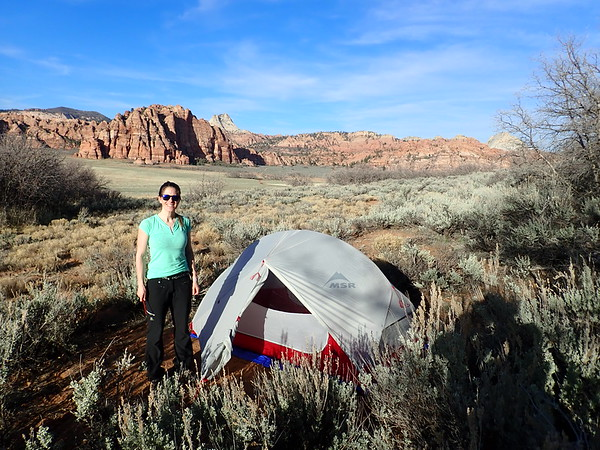 First camp with the Hubba Hubba tent!