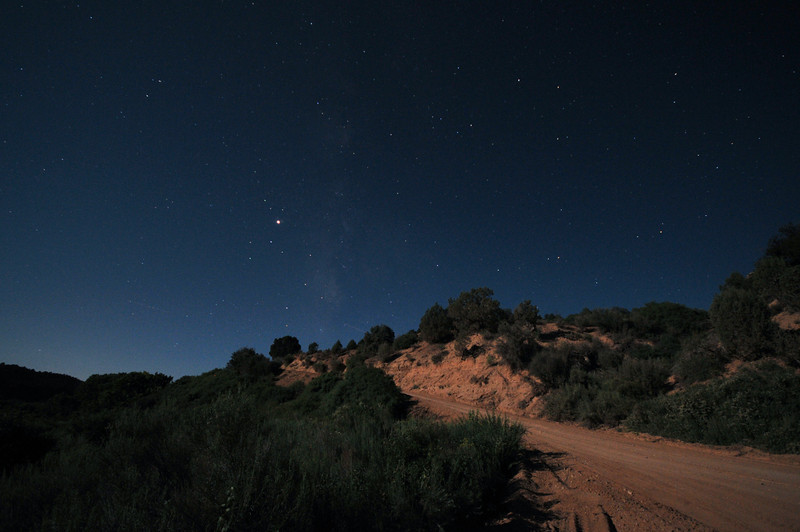 Nighttime in southern Utah is soooo beautiful.