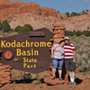 Obligatory picture at the park entrance sign - Kodachrome State Park