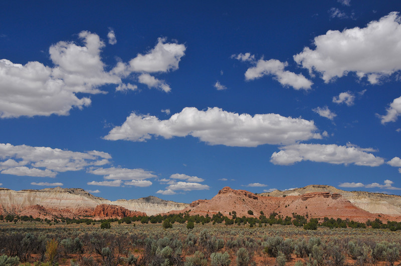 Beautiful landscape in Utah.