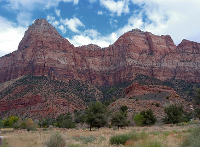 On to Zion National Park (from our camp site).