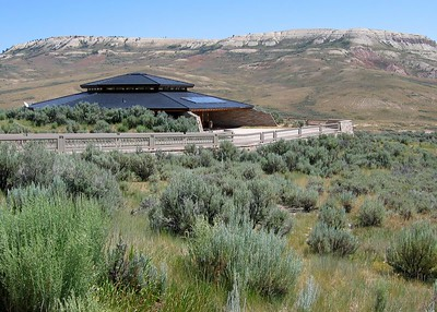 Fossil Butte, Wyoming, visitor center.