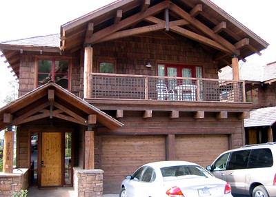 Our home for the week in Teton Village, Jackson Hole. So deluxe!