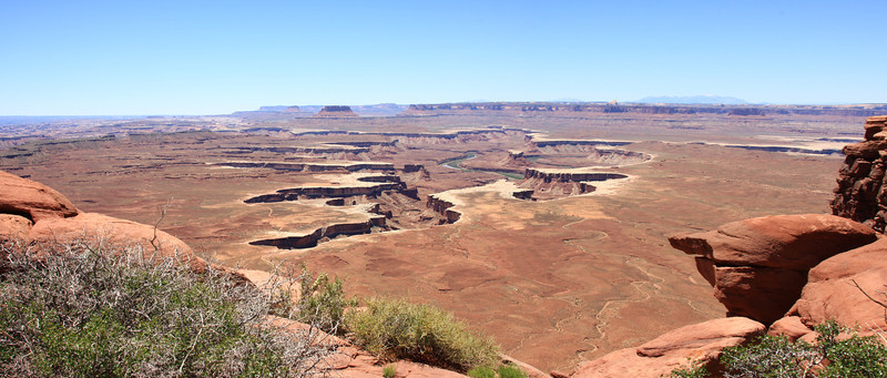 Green River Overlook Panorama