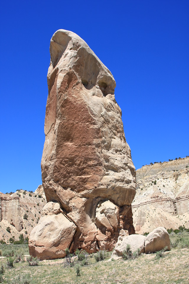 Kodachrome Basin - Chimney Rock; one of many, many across the Southwest