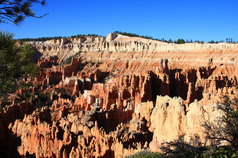 Morning at Bryce Canyon after a very chilly night camping.