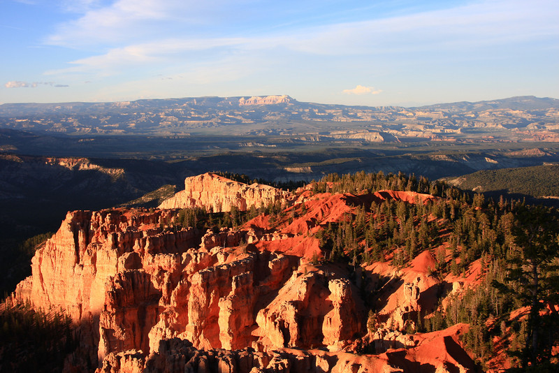 Arrival day - sunset at Bryce Canyon