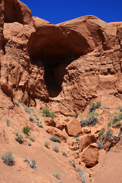 Unnamed arch at Kodachrome Basin