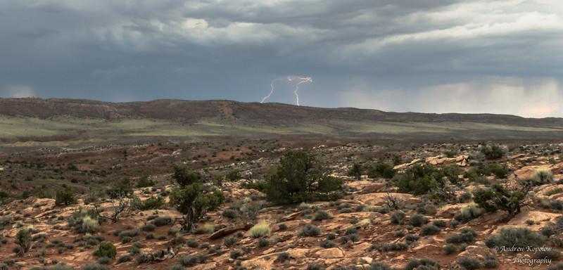 My first lightning strike of the trip!