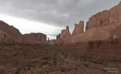 Fiirst vista, Arches