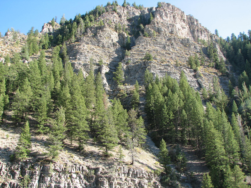 Stair Step Rocks in Logan Canyon