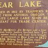 Bear Lake Signage