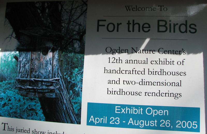 Birdhouse Woodland Display