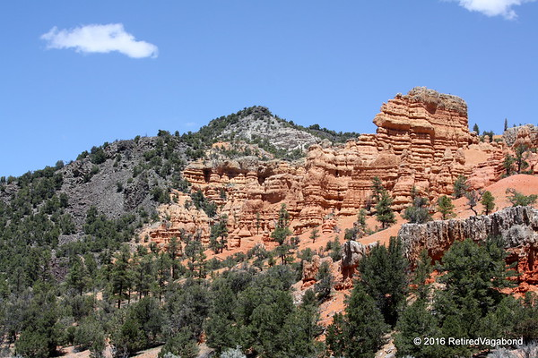 Hiking to Top Red Canyon