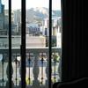 View Through Doors to Balcony in Living Room