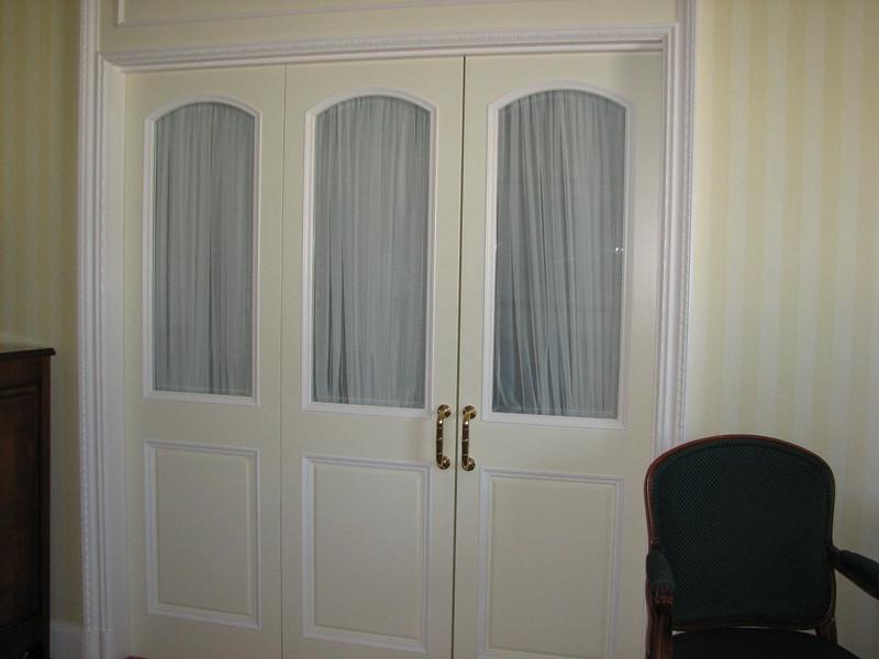 Doors to the Bedroom