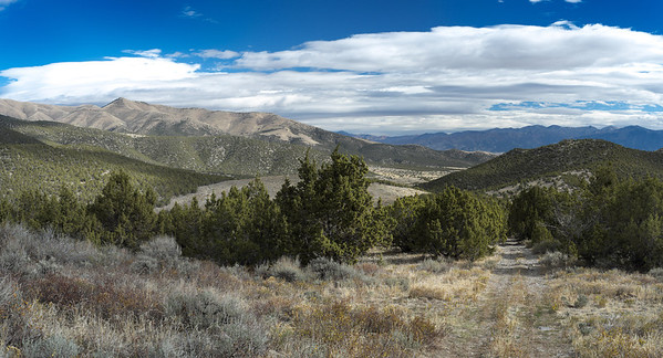 20121016 View from Johnson Pass, Stansbury Mountains Utah.