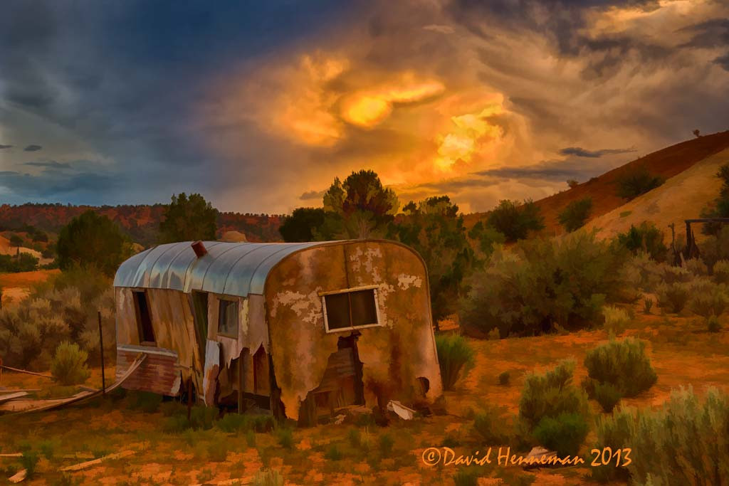 Abandoned Cowboy Camp