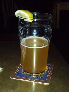 Hefeweizen pint, Desert Edge Brewery