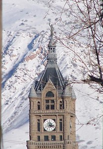 Courthouse in Salt Lake City