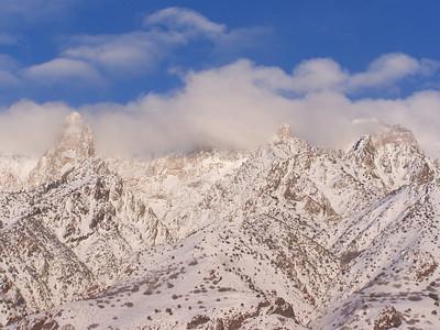 Wasatch Mountains, Salt Lake City, 2.5.08 09