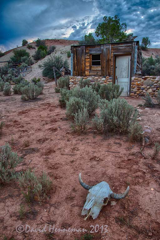 Abandoned Old West Cowboy Camp